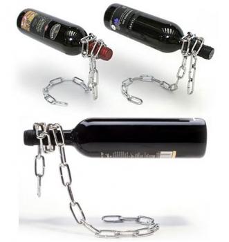 Фото - Подставка для бутылки Цепь купить в киеве на подарок, цена, отзывы