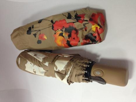 Фото - Зонт Антишторм  меняющий цвет Мак купить в киеве на подарок, цена, отзывы