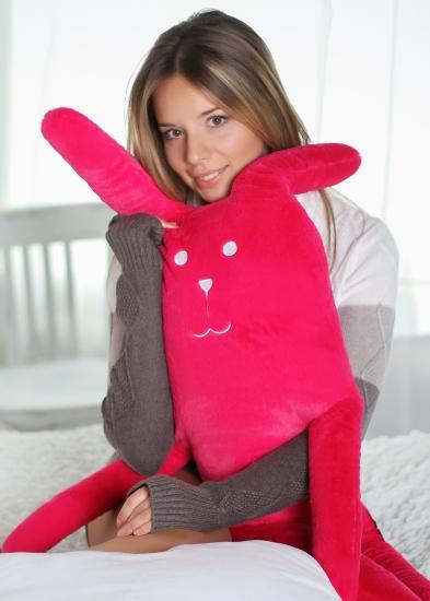 Фото - Розовый Заяц L Craftholic купить в киеве на подарок, цена, отзывы