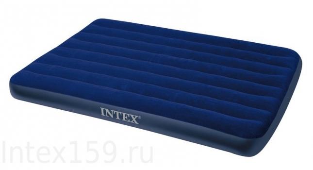 Фото - Матрас надувной Intex, 137см купить в киеве на подарок, цена, отзывы