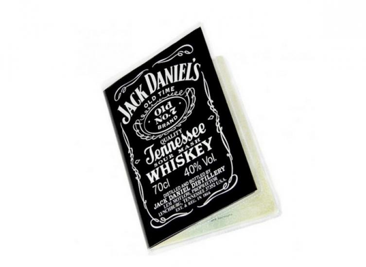 Фото - Обложка на паспорт Джэк Дэниэлс купить в киеве на подарок, цена, отзывы