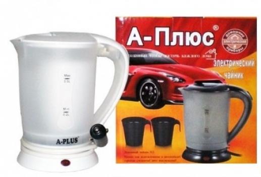 Фото - Чайник автомобильный электрический  купить в киеве на подарок, цена, отзывы