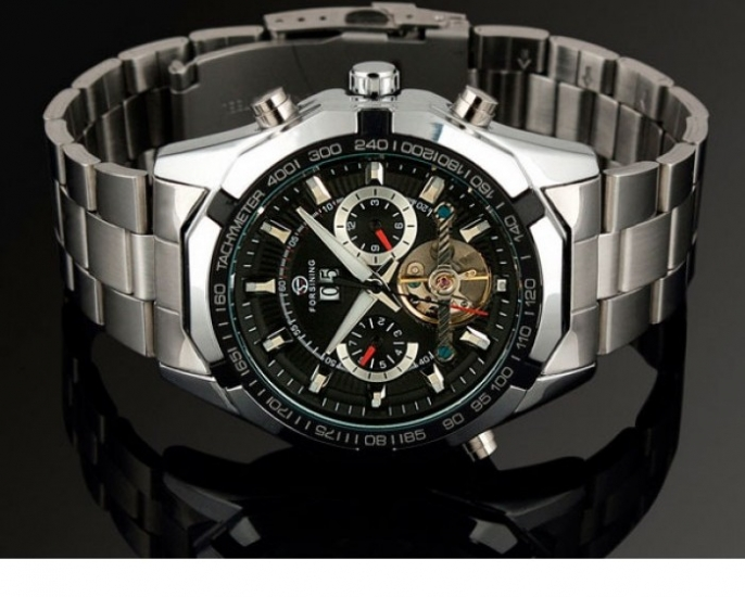 2f8d527b17cc ... отзывы · фото 14572 Мужские классические часы Forsining Texas цена, ...