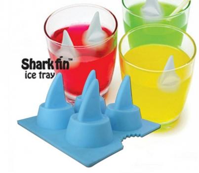 Фото - Формы для льда Плавник акулы купить в киеве на подарок, цена, отзывы