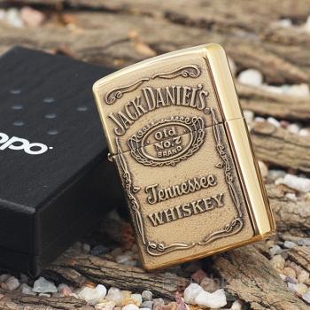 Фото - Зажигалка Zippo Jack Daniels купить в киеве на подарок, цена, отзывы