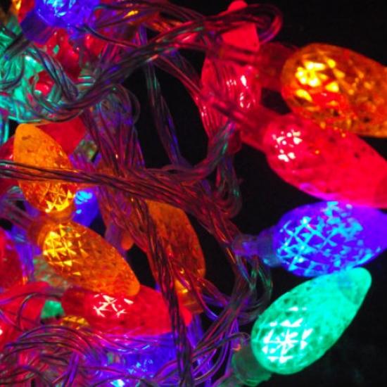 Фото - Гирлянда светодиодная шишки 38led купить в киеве на подарок, цена, отзывы