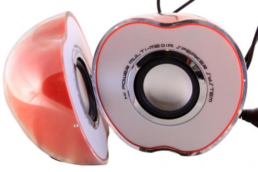 Фото - Компьютерные колонки Яблуко (Apple) купить в киеве на подарок, цена, отзывы