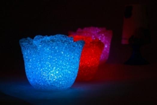 Фото - Светильник-ночник Роза (Crystal) купить в киеве на подарок, цена, отзывы