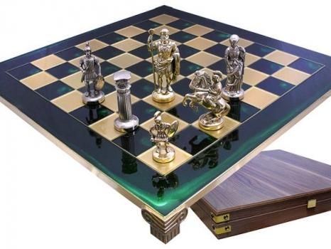 Фото - Шахматы Римляне Manopoulos купить в киеве на подарок, цена, отзывы