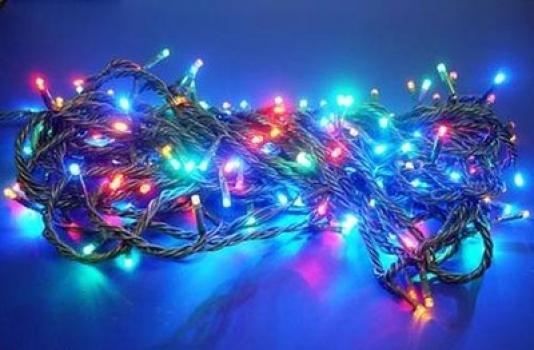 Фото - Гирлянда светодиодная LED 300 мультиколор купить в киеве на подарок, цена, отзывы