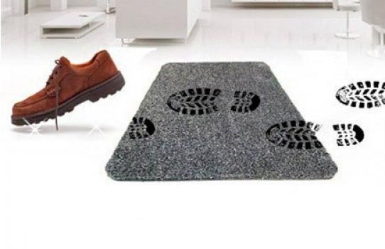 Фото - Супервпитывающий дверной коврик Clean Step Mat  купить в киеве на подарок, цена, отзывы