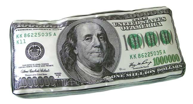 Фото - Подушка Миллион Долларов купить в киеве на подарок, цена, отзывы