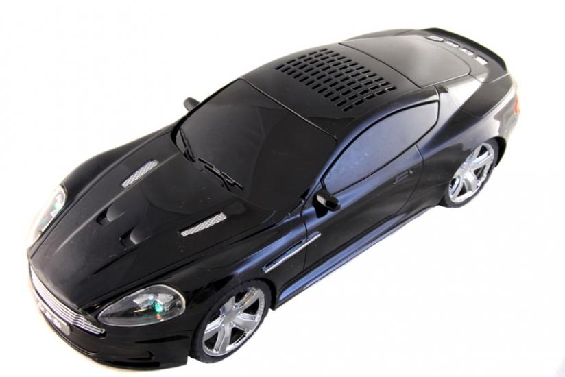 Фото - Колонка - Машинка Aston Martin DBS (колонка, плеер mp3, радио) black купить в киеве на подарок, цена, отзывы