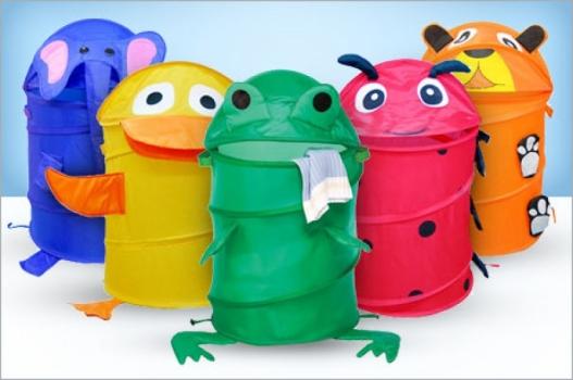 Фото - Корзина для игрушек или белья MEDIUM купить в киеве на подарок, цена, отзывы