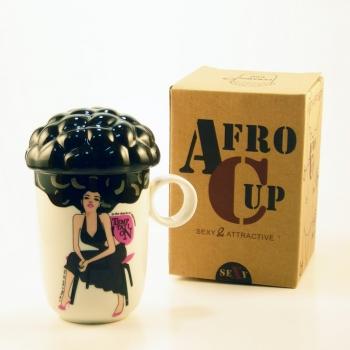 Фото - Чашка Afro Cup Sex (при наливании горячей воды раздевается) купить в киеве на подарок, цена, отзывы