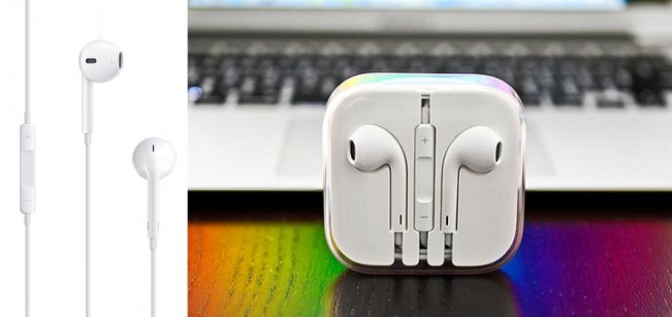 Фото - Наушники Apple Iphone 5 (EarPods) купить в киеве на подарок, цена, отзывы