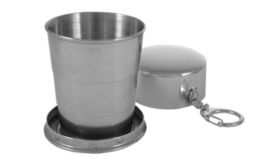 Фото - Раскладной стаканчик металический купить в киеве на подарок, цена, отзывы