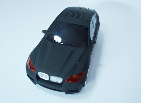 Фото - Колонка - Машинка BMW X6 (колонка, плеер mp3, радио) матовая купить в киеве на подарок, цена, отзывы