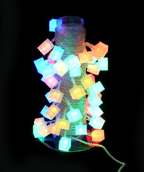 Фото - Гирлянда светодиодная подарочные коробочки 38 led купить в киеве на подарок, цена, отзывы