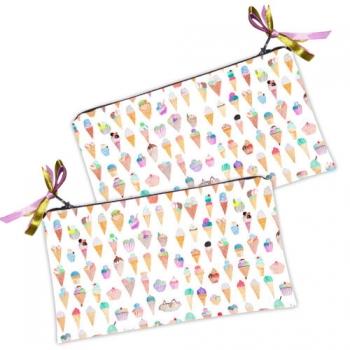 Фото - Косметичка кошелек Мороженное купить в киеве на подарок, цена, отзывы