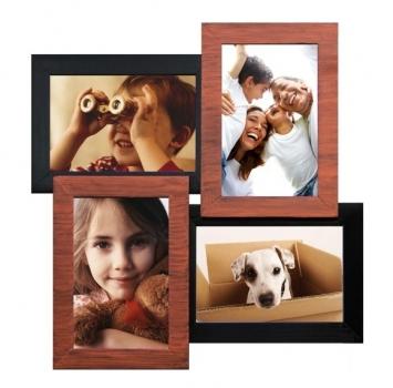 Фото - Мультирамка Медное Мерцание на 4 фото купить в киеве на подарок, цена, отзывы