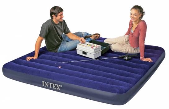 Фото - Матрас надувной Intex, 183см купить в киеве на подарок, цена, отзывы