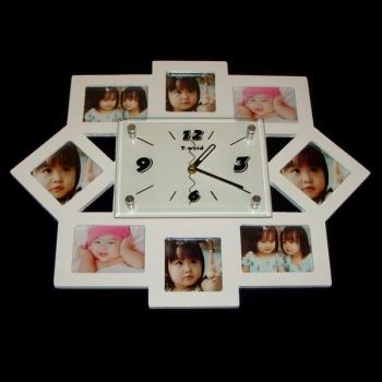 Фото - Фоторамка с часами Семья купить в киеве на подарок, цена, отзывы