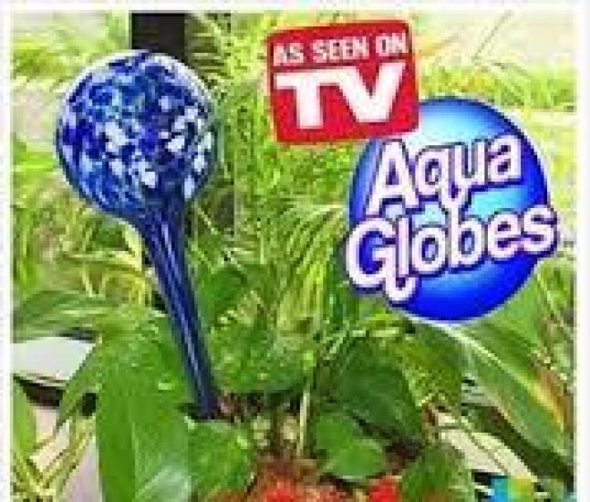Фото - Шар для автополива растений Аква Глоб 2шт купить в киеве на подарок, цена, отзывы
