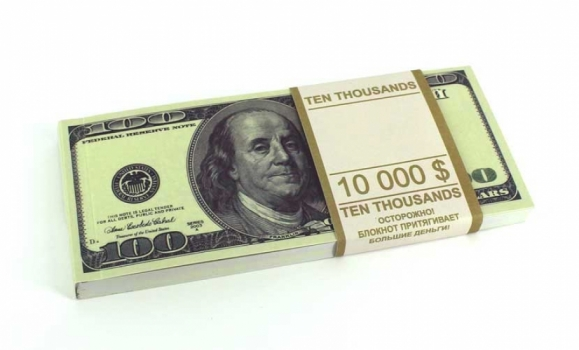 Фото - Денежный блокнот 100 долларов купить в киеве на подарок, цена, отзывы
