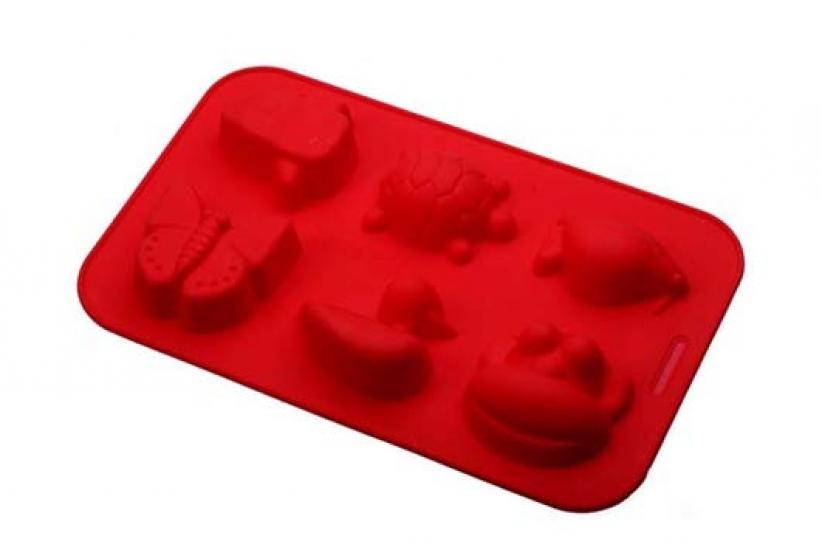 Фото - Силиконовая форма Жучки и черепашки  купить в киеве на подарок, цена, отзывы