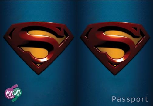 Фото - Обложка на паспорт Супермена купить в киеве на подарок, цена, отзывы