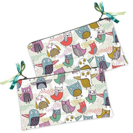 Фото - Косметичка-кошелек Птенчики купить в киеве на подарок, цена, отзывы