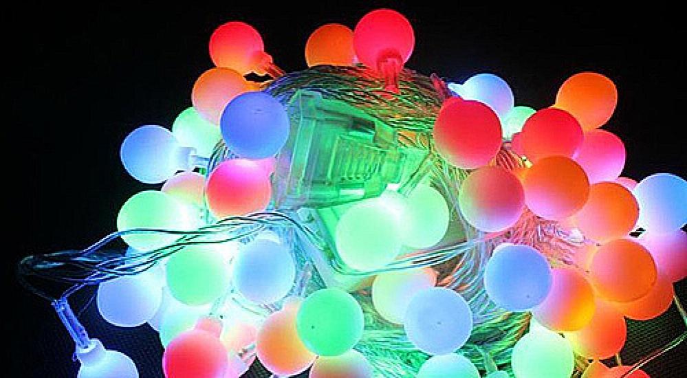 Фото - Гирлянда светодиодная Лампочки 38 led купить в киеве на подарок, цена, отзывы