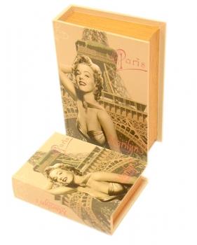 Фото - Книга-шкатулка Мэрилин 2шт купить в киеве на подарок, цена, отзывы