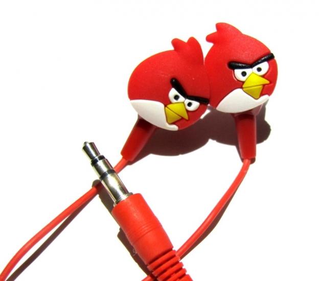 Фото - Наушники Angry Birds купить в киеве на подарок, цена, отзывы