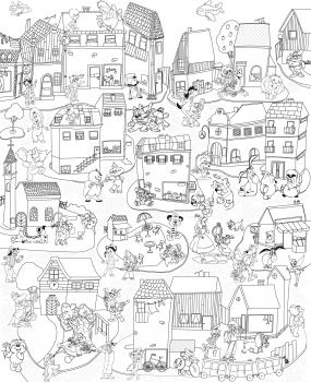 Фото - Обои раскраска - Герои советских мультфильмов 1.2х1.5м купить в киеве на подарок, цена, отзывы