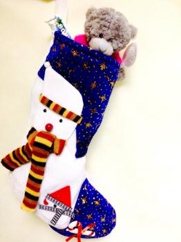Фото - Рождественский носок СУПЕР купить в киеве на подарок, цена, отзывы