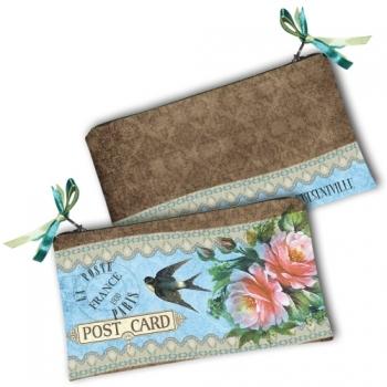 Фото - Косметичка-кошелек Post card купить в киеве на подарок, цена, отзывы