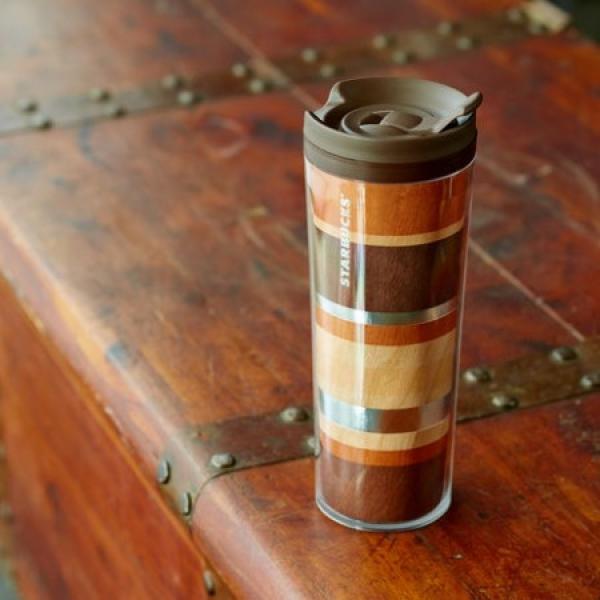 Фото - Акриловая термокружка Starbucks Натуральное Дерево купить в киеве на подарок, цена, отзывы