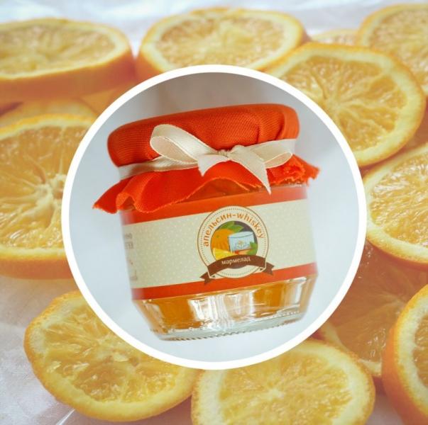 Фото - Апельсиновый джем с виски купить в киеве на подарок, цена, отзывы