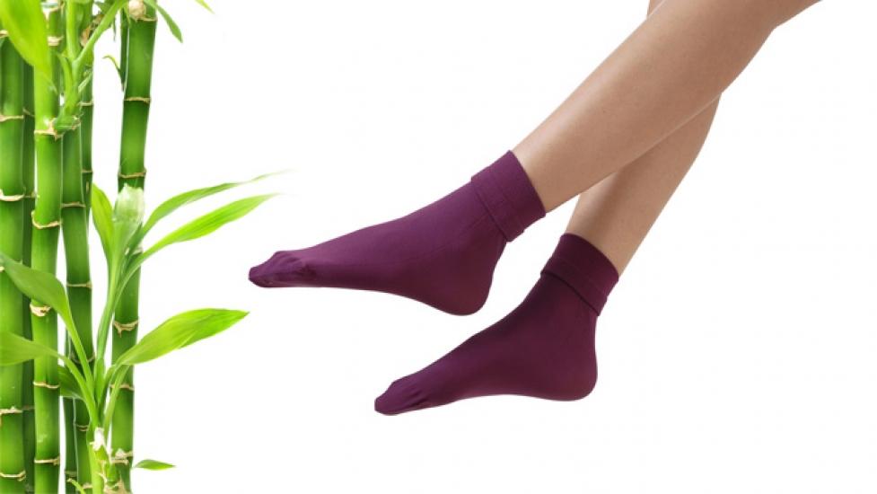 Фото - Бамбуковые женские носки  купить в киеве на подарок, цена, отзывы