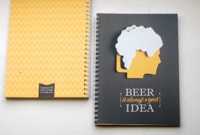 Фото - Блокнот - Beer купить в киеве на подарок, цена, отзывы