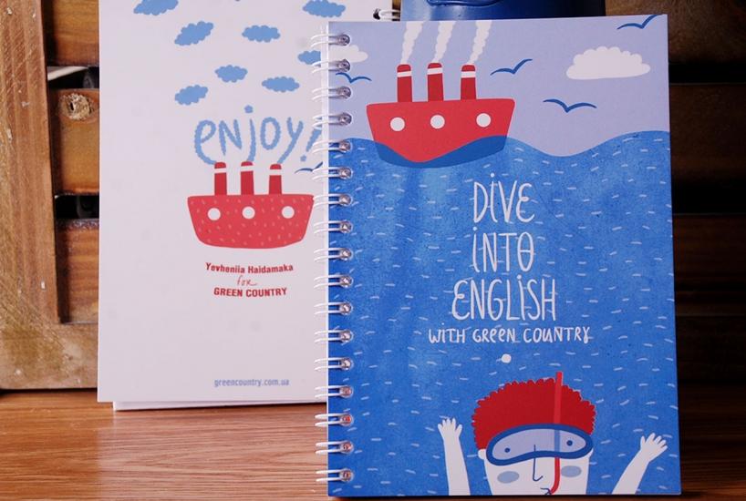 Фото - Блокнот А5 Dive купить в киеве на подарок, цена, отзывы