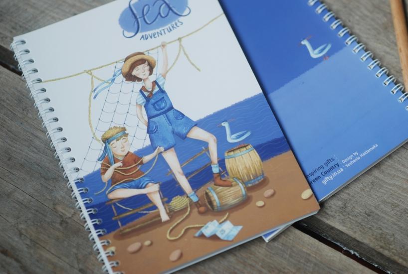 Фото - Блокнот А5 Sea adventure купить в киеве на подарок, цена, отзывы