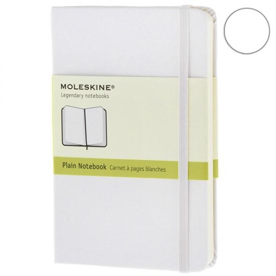 Фото - Блокнот Moleskine Classic карманный нелинованные Белый купить в киеве на подарок, цена, отзывы