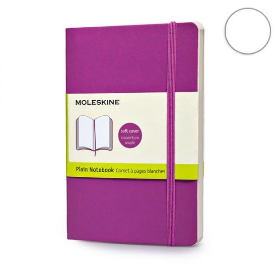 Фото - Блокнот Moleskine Classic карманный нелинованные Розовый Мягкий купить в киеве на подарок, цена, отзывы