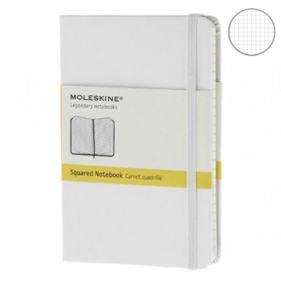 Фото - Блокнот Moleskine Classic маленький белый купить в киеве на подарок, цена, отзывы