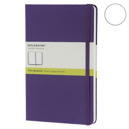 Фото - Блокнот Moleskine Classic средний нелинованные Фиолетовый купить в киеве на подарок, цена, отзывы