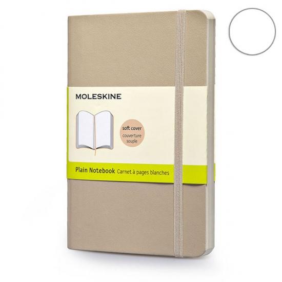 Фото - Блокнот Moleskine Classic средний нелинованные Пшеничный Мягкий купить в киеве на подарок, цена, отзывы