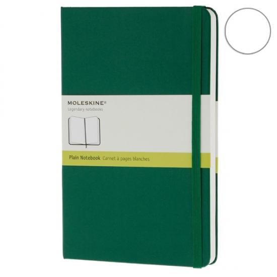 Фото - Блокнот Moleskine Classic средний нелинованные Зеленый купить в киеве на подарок, цена, отзывы